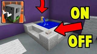 How To Make WORKING BATHTUB in Craftsman Building Craft screenshot 2