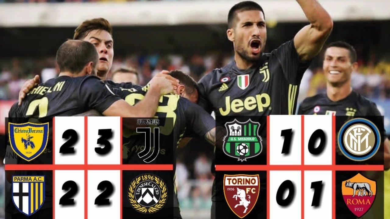 Results & Classem Serie A 2018/19 Week 1, ⚽Hasil ...