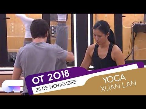 CLASE de YOGA con XUAN LAN (28 NOV) | OT 2018
