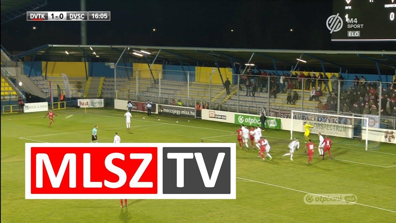 Karan Dejan gólja a DVTK - DVSC mérkőzésen