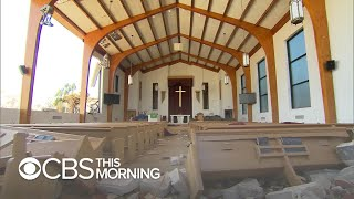 Dozens sheltering in church survive Hurricane Michael