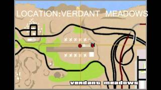 GTA San Andreas All Airplanes and Helicopters Location PC