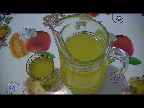 Охлаждающий напиток из апельсин.