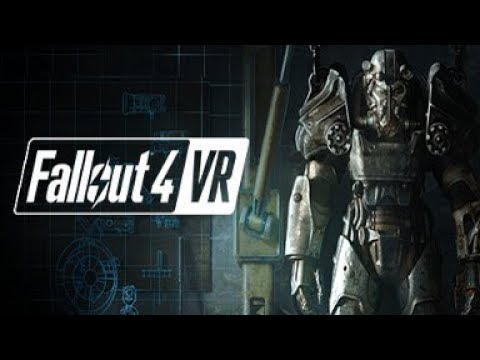 Fallout 4 VR | Testing the HTC Vive!