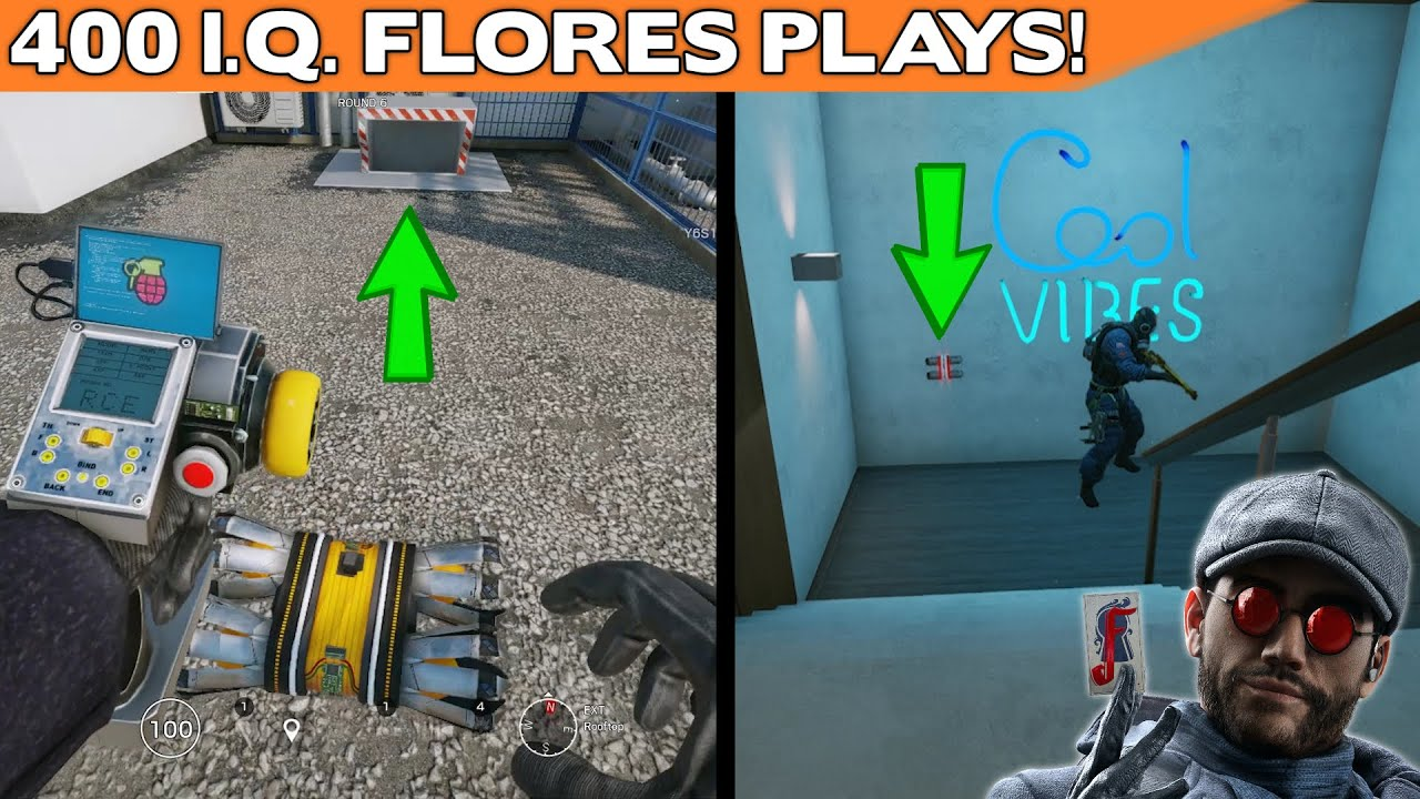 Download How To Play FLORES The 400 I.Q. Way || Crimson Heist Early Access Gameplay