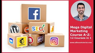 Udemy - Mega Digital Marketing Course A-Z: 12 Courses in 1 + Updates [Total 36 GB+]