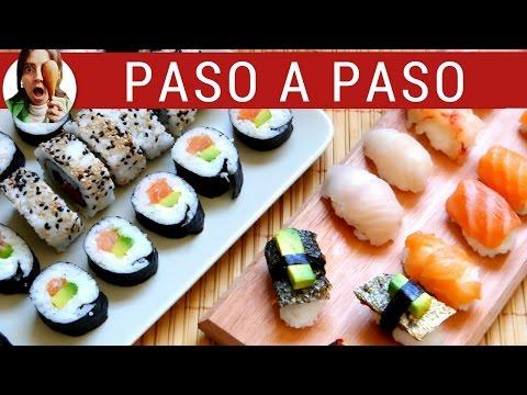 C mo hacer sushi casero japon s y cocer el arroz doovi - Bizcocho microondas isasaweis ...