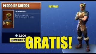 GET FREE NEW SKIN *WAR DOG* IN FORTNITE WITH THIS TRICK *NEW SKIN*