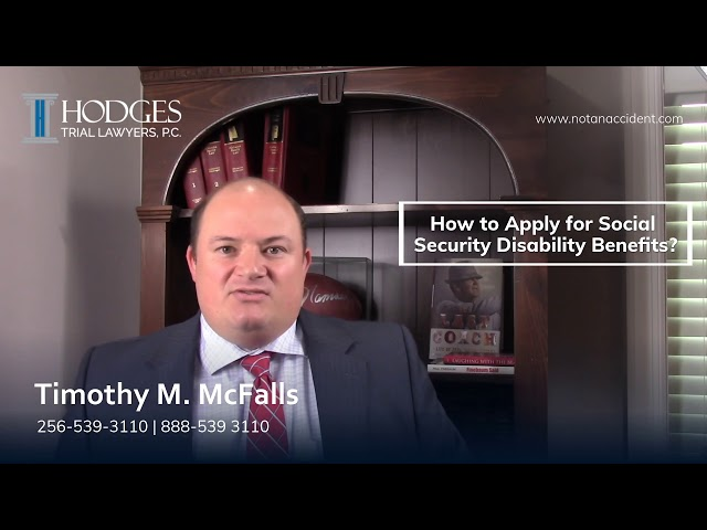 Social Security Disability Lawyers at Hodges Trial Lawyers, P.C.