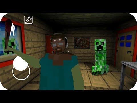 Granny se transforma en Minecraft - Nubi granny pe juegos gratis