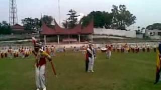 PERTIWI BHARA SMARAGITA SMA 1 BATUSANGKAR DRUMBAND THE BEST