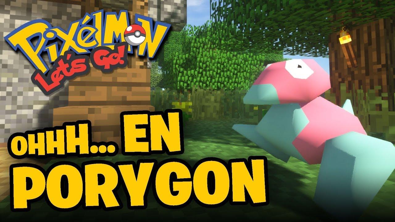 OHH EN PORYGON - Pixelmon: Let´s Go! | #20 #PixelmonLetsGo