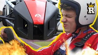 JMX drives like a granny in a Top Gear Racing Car | Rule'm Sports