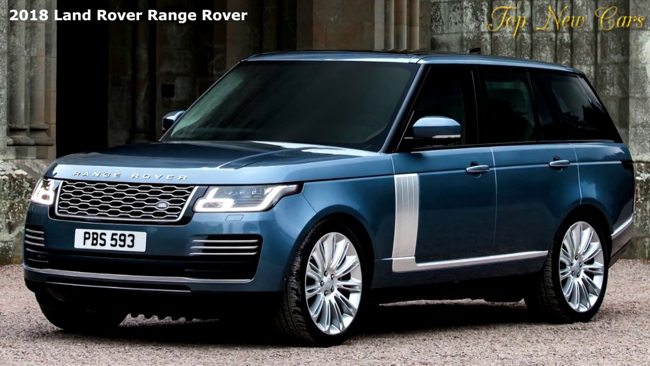 land rover unveils updated 2018 range rover p400e plug in hybrid youtube. Black Bedroom Furniture Sets. Home Design Ideas