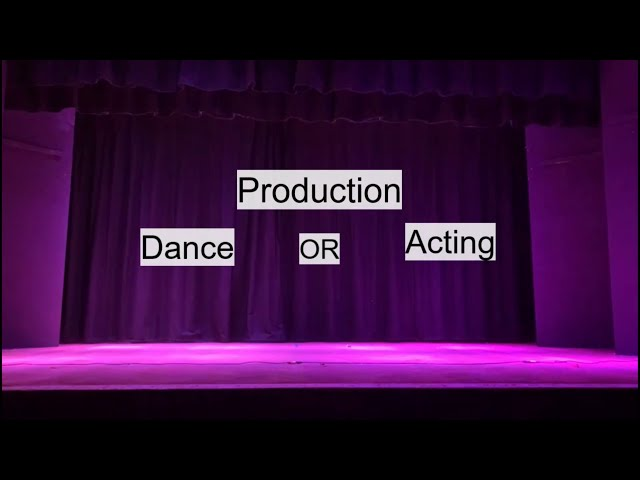 BTEC Production - CAHS Year 9 Options 2021