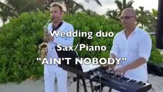 Hard Rock Punta Cana Wedding duo sax/piano