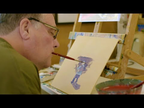 Mouth and Foot Painter: Grant Sharman