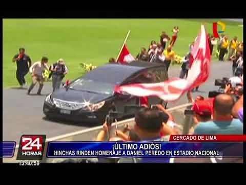 Daniel Peredo: hinchas se despidieron del periodista deportivo en el Estadio Nacional