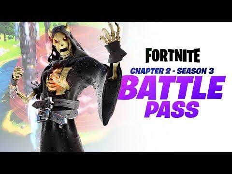 Chapter 2   Season 3 Battle Pass - Fortnite: Battle Royale