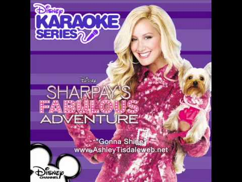 Sharpay's Fabulous Adventure - Gonna Shine - Karaoke/Instrumental + Lyrics