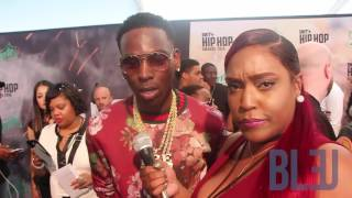 2016 BET Hip Hop Awards Red Carpet
