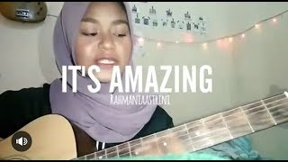 Video Rahmania astrini - It's Amazing// #cover16 download MP3, 3GP, MP4, WEBM, AVI, FLV Agustus 2018