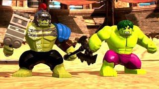 LEGO Marvel Super Heroes 2 - Hulk (Thor: Ragnarok) vs Hulk
