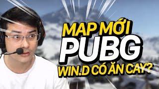 liệu win.d có ăn cay khi chơi map mới pubg !? | cười rụng trứng cùng win.d