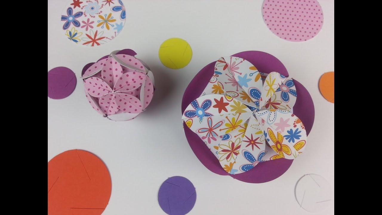 Tutorial decorazioni con dischi di cartoncino youtube - Decorazioni con cartoncino ...