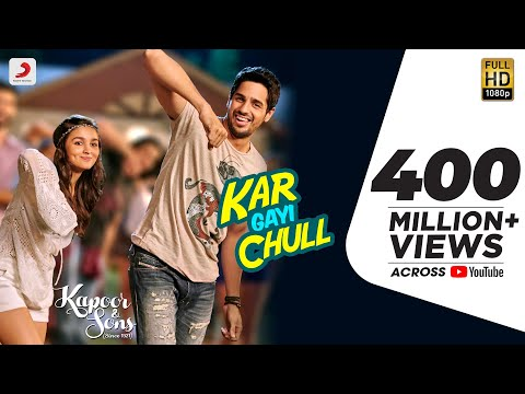 Kar Gayi Chull - Kapoor & Sons | Sidharth Malhotra | Alia Bhatt | Badshah | Amaal Mallik |Fazilpuria from YouTube · Duration:  2 minutes 23 seconds