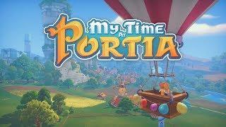 POSZUKIWANIA NIEBIESKIEJ SKÓRY  Poranne Granie #38 MY TIME AT PORTIA | PC | GAMEPLAY |