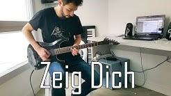 RAMMSTEIN - Zeig Dich Full Guitar Cover [HD]