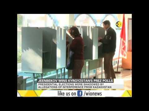 Jeenbekov wins Kyrgyzstan's president polls