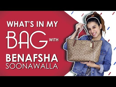 What's In My Bag With Benafsha Soonawalla | Bag Secrets Revealed | Exclusive