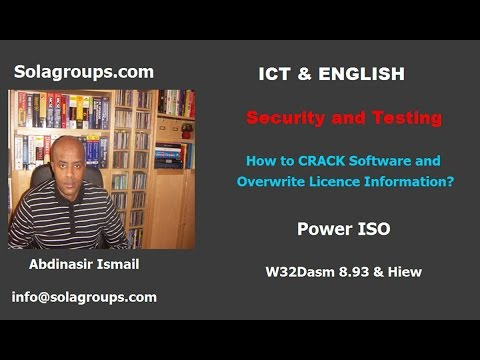 How To CRACK Software And Overwrite Licence Information?