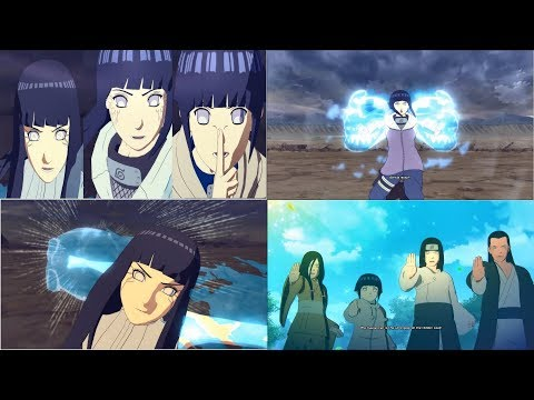 Naruto Shippuden Ultimate Ninja Storm 4 Hinata Road To Boruto Full Strength Moveset Mod RELEASE