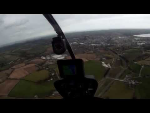 Robinson R22 Helicopter Flight Lesson