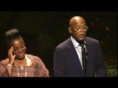 Samuel L. Jackson and his wife  LaTanya Richardson Helps Celebrate Bishop Blakes Birthday!