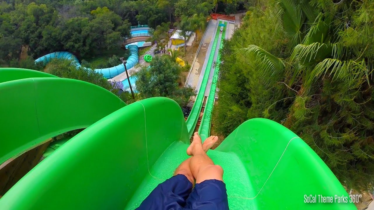 Drop Out Extreme Body Water Slide Pov - Free Fall Water  Doovi-7032