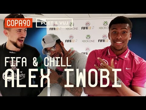 FIFA and Chill with Alex Iwobi | Poet and Vuj Present!