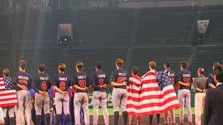 アメリカvs日本 ダイジェスト(2015 WBSC U-18 Baseball World Cup)