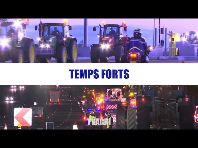 En direct : 1500 tracteurs vont converger sur Strasbourg !