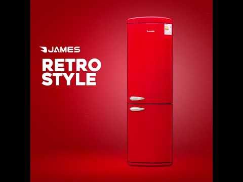 Heladera James Retro J153RR