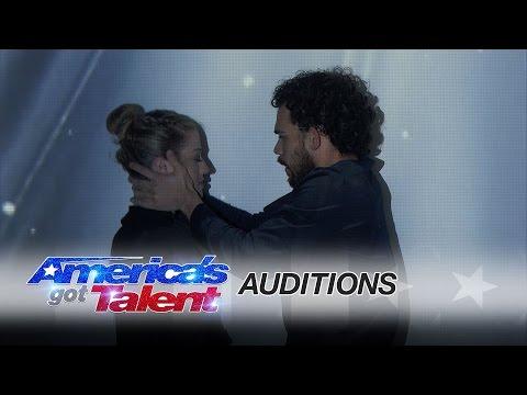 Sila Sveta Multimedia Dance Story Telling - America's Got Talent 2017