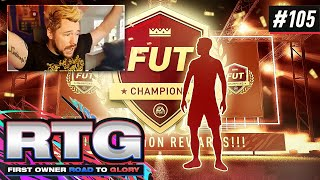 FUT CHAMPS REWARDS!! - FIFA 21 First Owner Road To Glory! #105