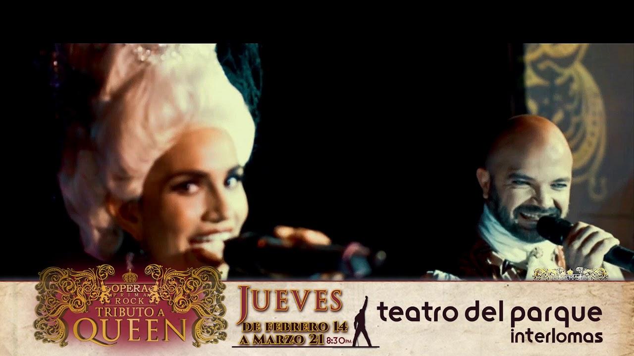 OPERA PRIMA ROCK: TRIBUTO A QUEEN – Teatro del Parque