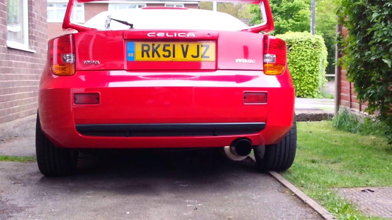 Toyota Santa Cruz >> Celica gt wing and brake disc spacers - YouTube