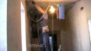 монтаж потолка из гипсокартона в 1 уровень(в этом видео я показываю как собрать потолок в 1 уровень из гипсокартона., 2013-12-14T07:30:24.000Z)