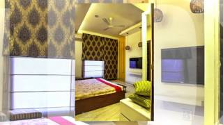Delhi apartment design--Modern interiors with traditional earthy colours