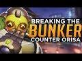 Overwatch: How to Counter ORISA Cheese Comp - BREAK the BUNKER